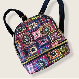 Cute Colorful Mini Backpack Quilt / Rug Print